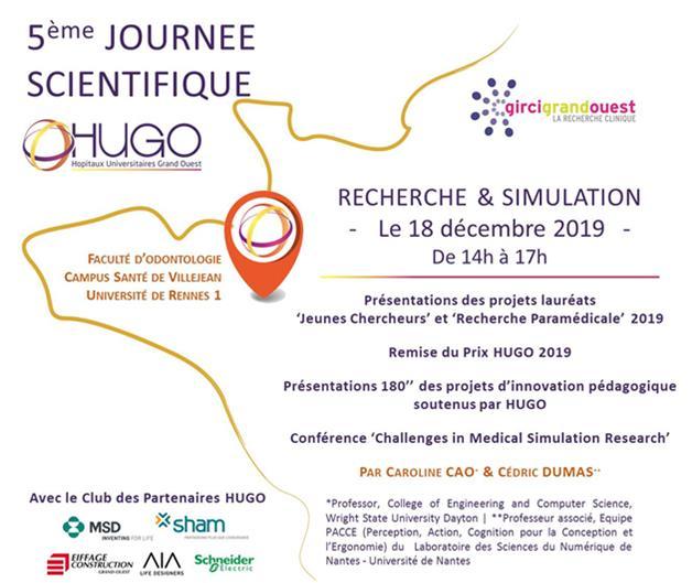 Journée scientifique : La Simulation en Santé